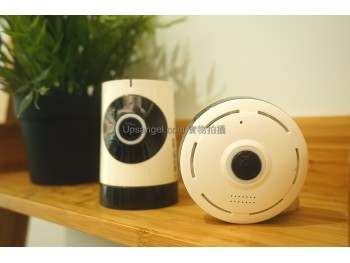 【魚眼超廣角】360度環視迷你IP-CAM Panoramic Fish Eye Mini wireless IP camera 960P